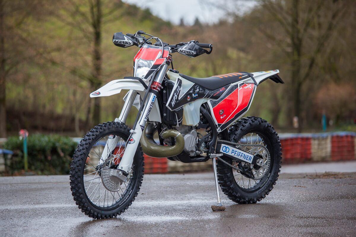 Das Arbeitsgerät von Luc Hunziker: HPS KTM EXC300